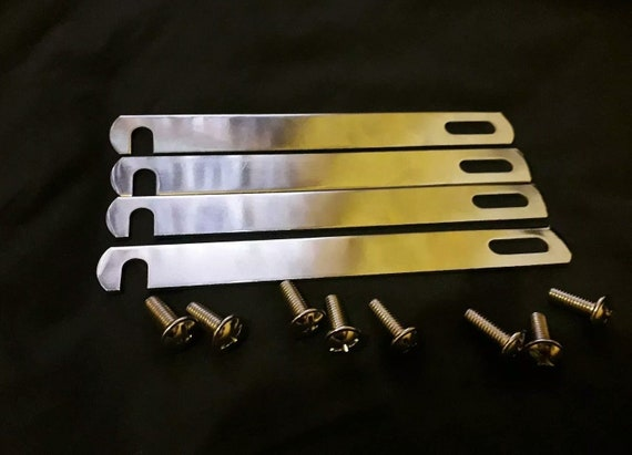 Divan Bed Base Connecting Link Bars 98mm Silver Nickle Plated Linking Bar /& Bolt