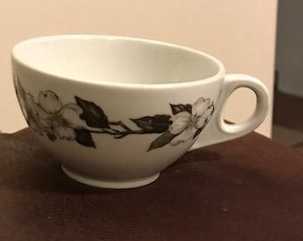 Vintage Shenango Northern Dogwood china cup discontinued pattern