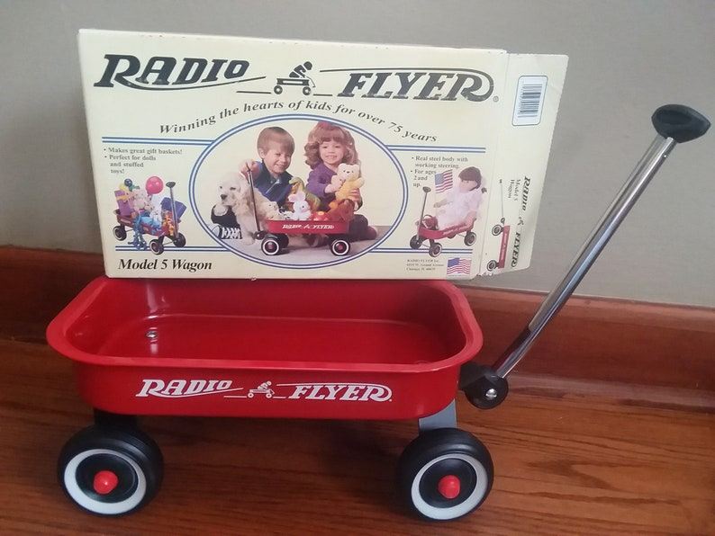 Radio Flyer Wagon dating