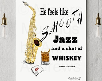 Fine Art Prints: Smooth Jazz