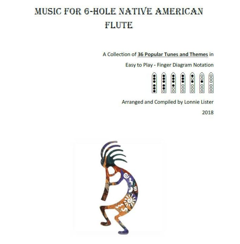 Sheet Music for Native American Flute
