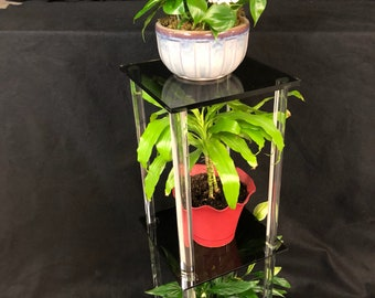 2 Tier Acrylic Plant Stand