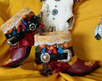 NEW Gypsy Western Booties
