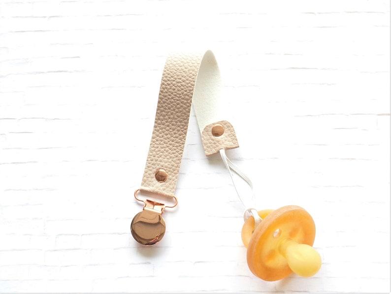 Pacifier Clip Holder Paci For Boy Girl Custom  Gift