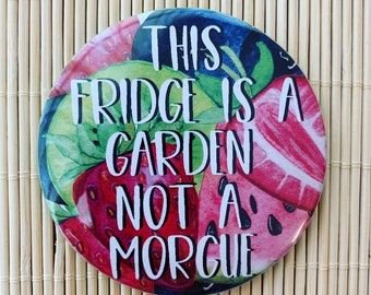 This Fridge Is A Garden Not Morgue
