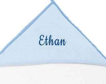 Hooded towel - personalized baby gift