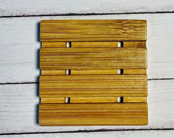 Small Bamboo Soap Dish