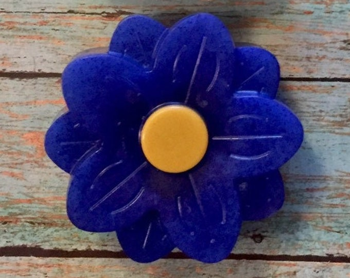 Flower Soap with Loofah Embed, Loofah Soap, Loofah, Glycerin Soap, Teacher Gifts, Bridal Shower Soap Favors, Soap Favors