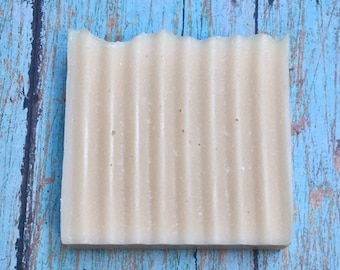 Unscented Goat's Milk Homemade Soap Bar