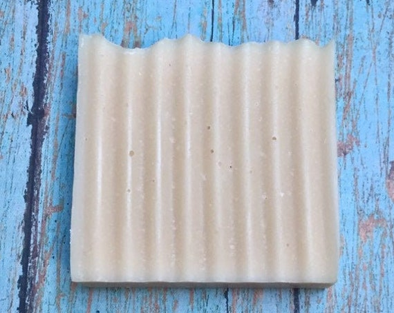 1  Bar Unscented Goat's Milk Homemade Soap from Echo Canyon Goat Farm in Coalinga California