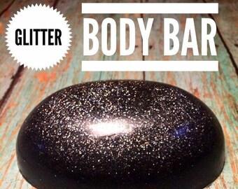 2 Glycerin Glitter Soaps