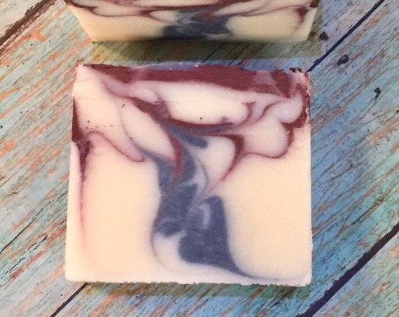 2 Eucalyptus Lavender Homemade Soap Bars