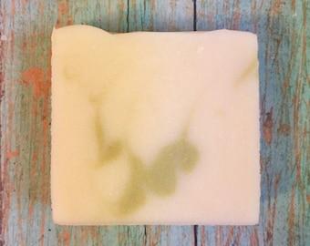 Eucalyptus Mint Homemade Soap Bar