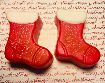 Christmas Stocking Soap, Stocking Stuffers, Christmas Gifts, Christmas Party Favors