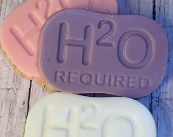 H20 Required/Glycerin Soap Bar/Bath and Spa/Gentle Soap