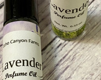 Lavender Essential Oil Roll On Perfume/ Pure Natural Perfume Oil