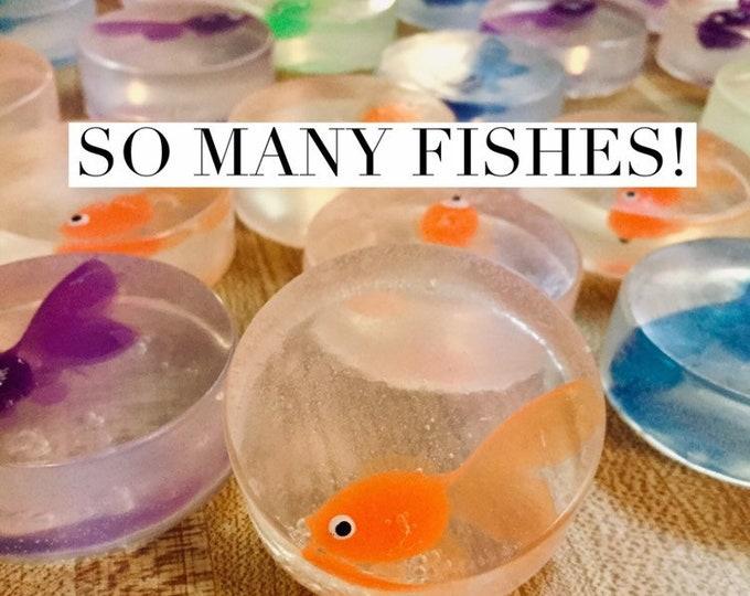 12 Fish Soap Party Favors