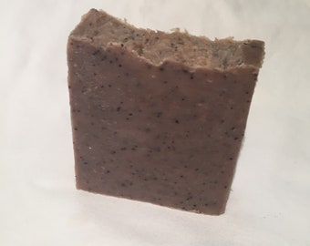 Coffee Ground Goat's Milk Homemade Soap Bar