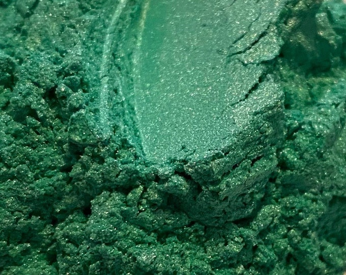 Green Mica Colorant for Soap Making