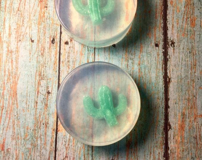 Cactus Soap/Desert Soap/Mid Western Soap/Rustic Cactus Soap