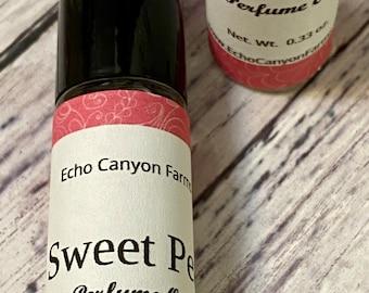 Sweet Pea Natural Roll On Perfume Oil/Sweet Pea Perfume Oil