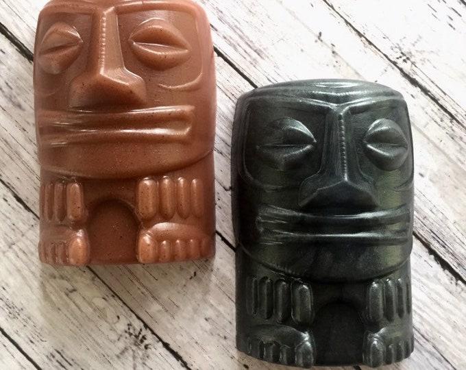 Tiki Man Soap Bar