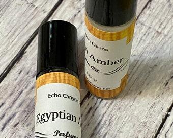 Egyptian Amber Roll On Perfume