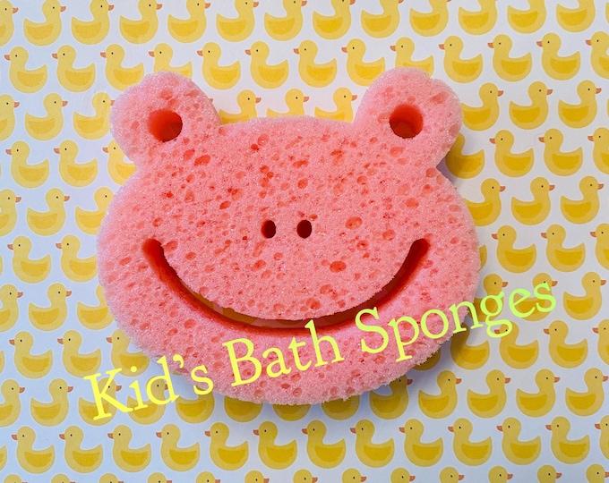 Kid's Bath Sponges/ Baby Bath Sponges/Flower Sponges /Gift Basket Ideas