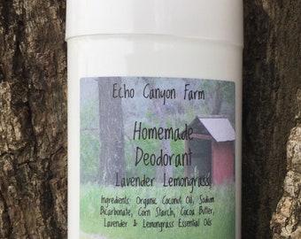 Men's Homemade All Natural Deodorant/Aluminum Free Deodorant