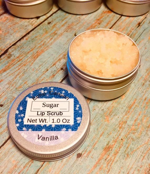 Honey & Sugar Shea Lip Scrub, Sugar Sweet Lip Scrub, Lip Care,  Lip Exfoliation