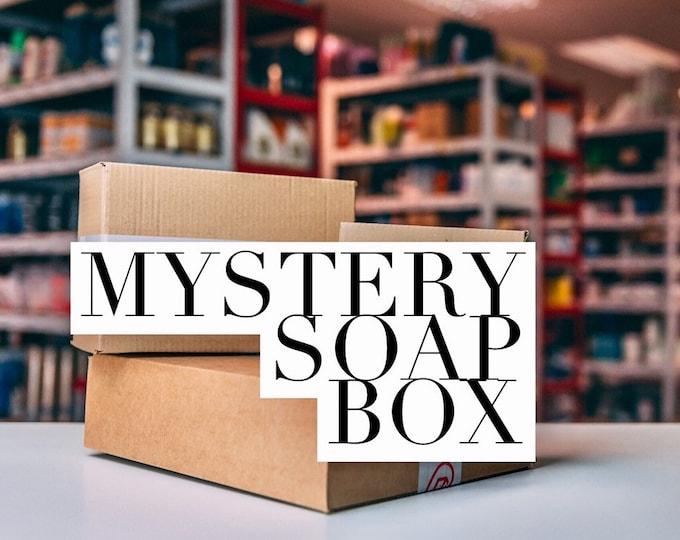 Mystery Soap Box/Soap box/Gift Box/Unique Gift/Get Well Gift
