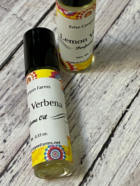 Lemon Verbena Roll On Perfume
