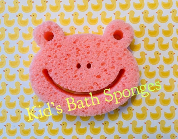 Kid's Bath Sponges/ Baby Bath Sponges/Flower Sponges /Gift Basket Ideas