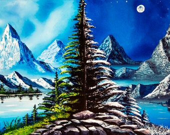 Day or Night Mountain