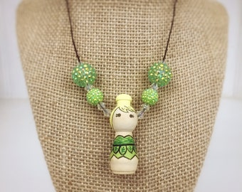 Fairy necklace, tinker bell