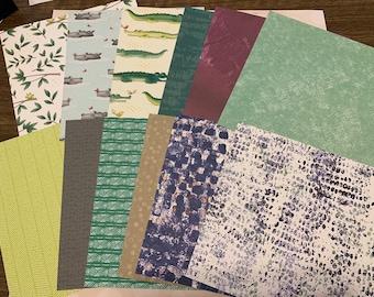16 Hojas Dovecraft la promesa papeles de 6 X 6 paquete de muestra nuevo 1 De Cada Diseño