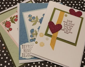 Set of 3 Inspirational Cards