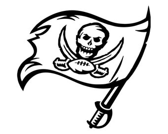 Tampa Bay Buccaneers Decal Vinyl Decal for laptop windows wall car boat