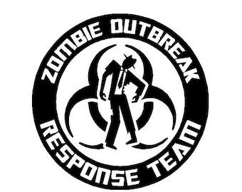 zombie decal etsy Radioactive Teddy Bears zombie outbreak response team vinyl decal laptop decal car decal decals for yeti or any smooth surface