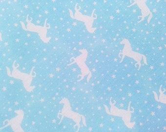 Cotton Fabric, Unicorn Fabric, Cotton Print, Unicorn print fabric, Poly Cotton Fabric, Kids Fabric, Unicorn Cotton Material, Baby Fabric