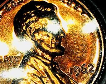 a 1962 rare copper penny