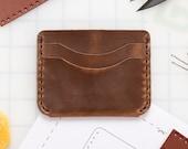 DIY 5 Pocket Foldover Wallet Leather Kit