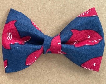 Shark Week Bow Tie Nautical Bow Tie Spring Bow Tie Summer Bow Tie