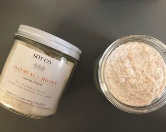 Oatmeal + Honey Milk Bath Soak