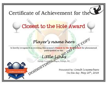 editable american football certificates digital downloadable etsy