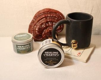 MUSH-LOVE Gift Set - Mushroom Hot Chocolate - Matcha - Mushroom Mug