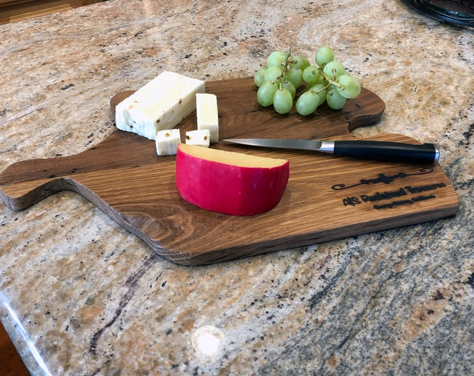 Rustic Reclaimed Wood Cutting Board/Cheese Board