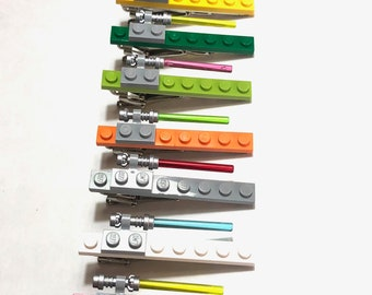 SALE! Lego Star Wars lightsaber Tie Clip