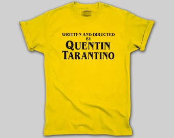 45395286 Written and directed by Quentin Tarantino t-shirt shirt for men and women  sizes and colors