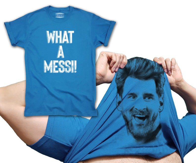 the latest aafec c501c Lionel Messi T-shirt Flip Up What a Messi inspired world cup 2018 Barcelona  Argentina jersey for men women and kids